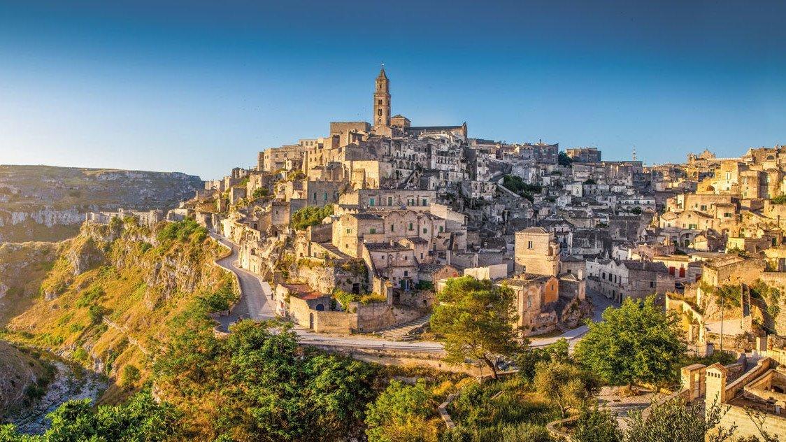 Die historische Stadt Matera