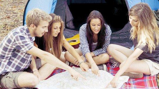 Kanu-Camp Zahren und andere Campingplätze