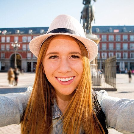Per Fahrrad durch Madrid