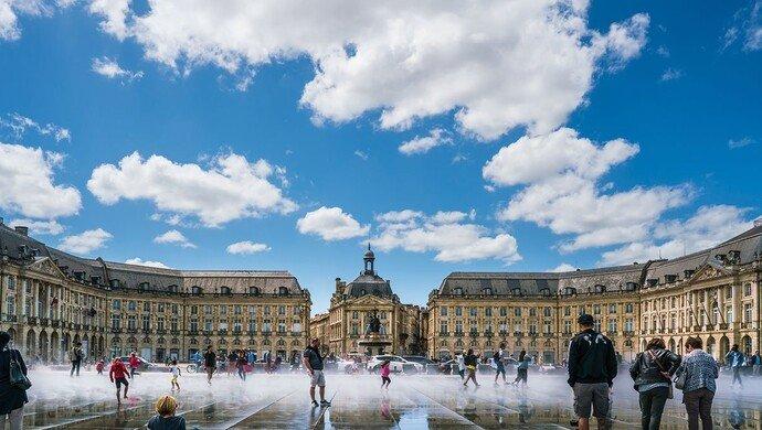 Klassenfahrt Bordeaux