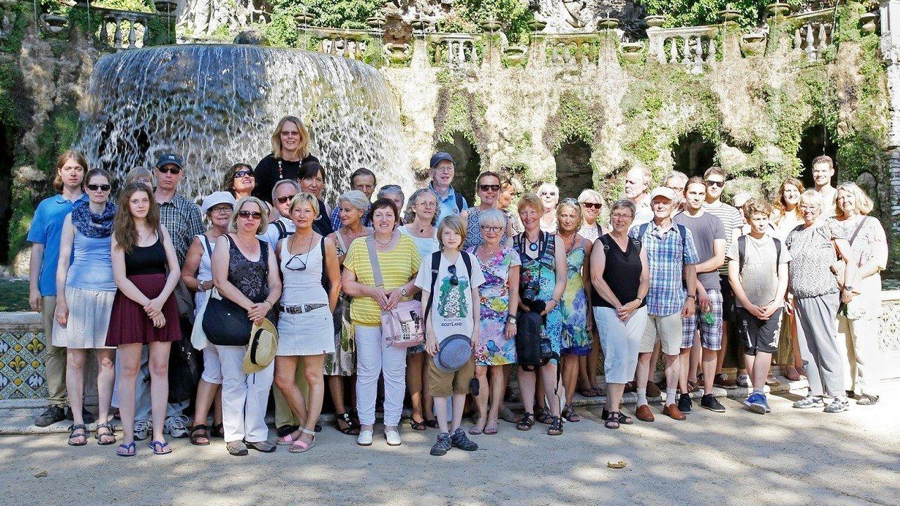 Bild einer Reisegruppe