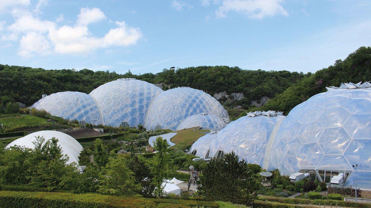 Gewächshäuser des Eden Project