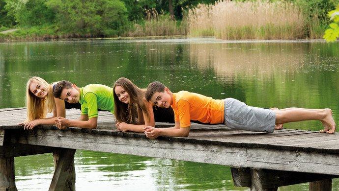 Klassenfahrt Schweriner See
