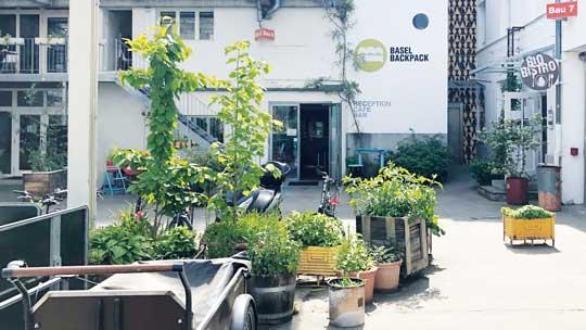 Basel Backpack - Urban Hostel Culture