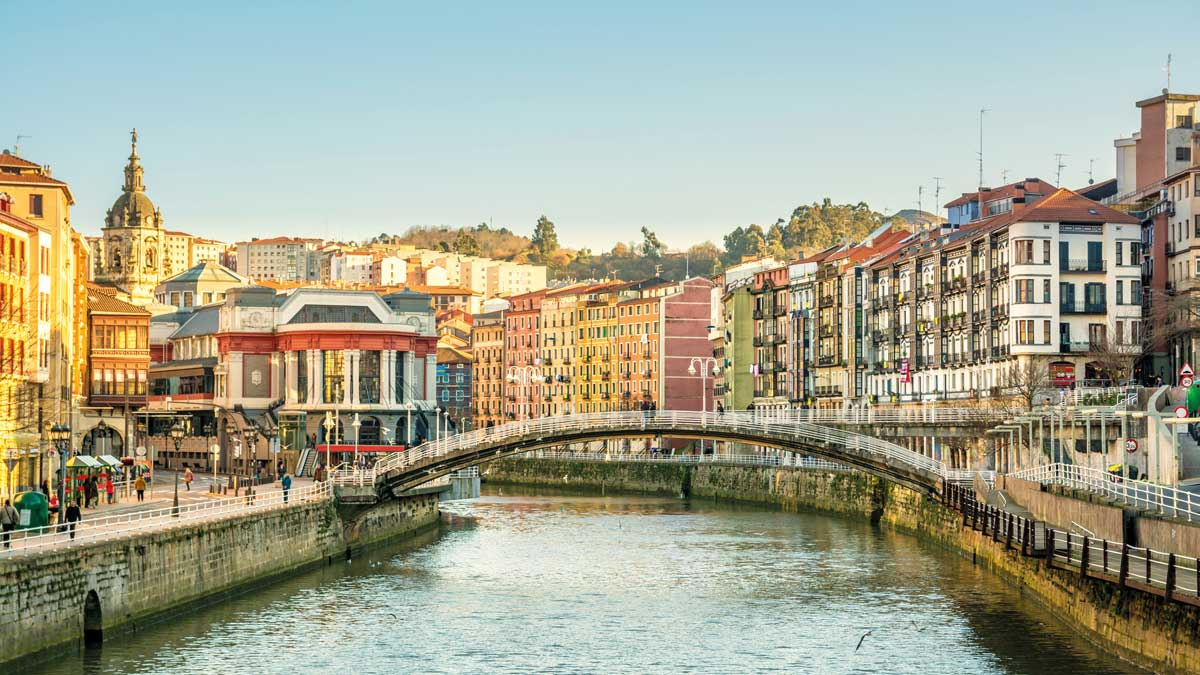 Brücke in Bilbao