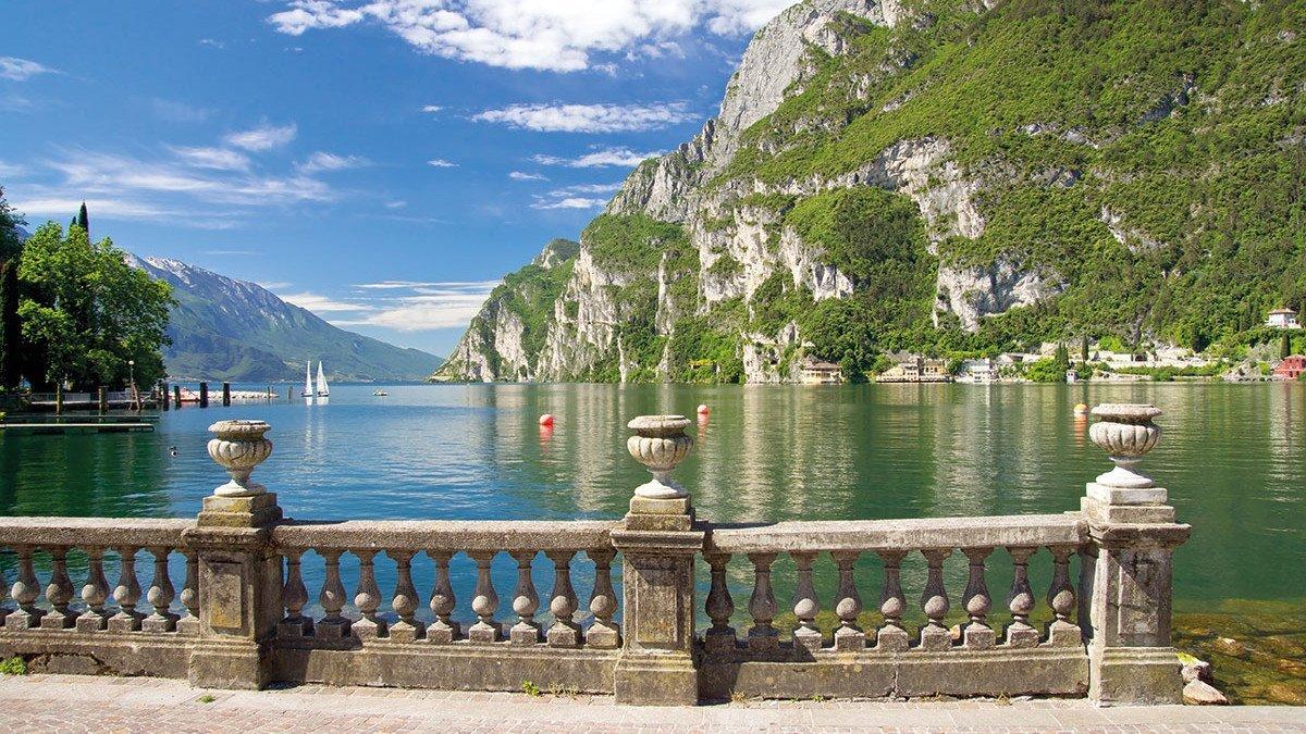 Ein wunderschöner Ausblick über den Gardasee