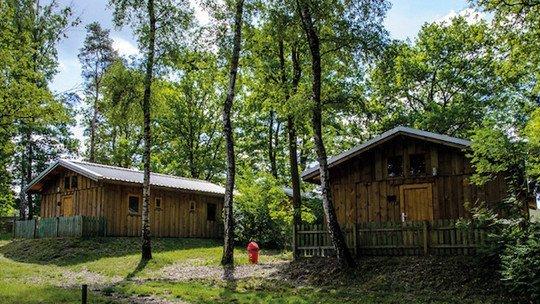 Camp Adventure Walsrode - Holzhütten