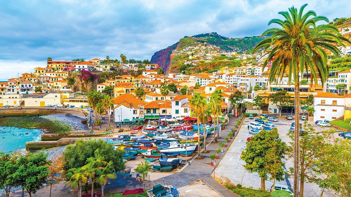 Madeira Bucht von Camara de Lobos