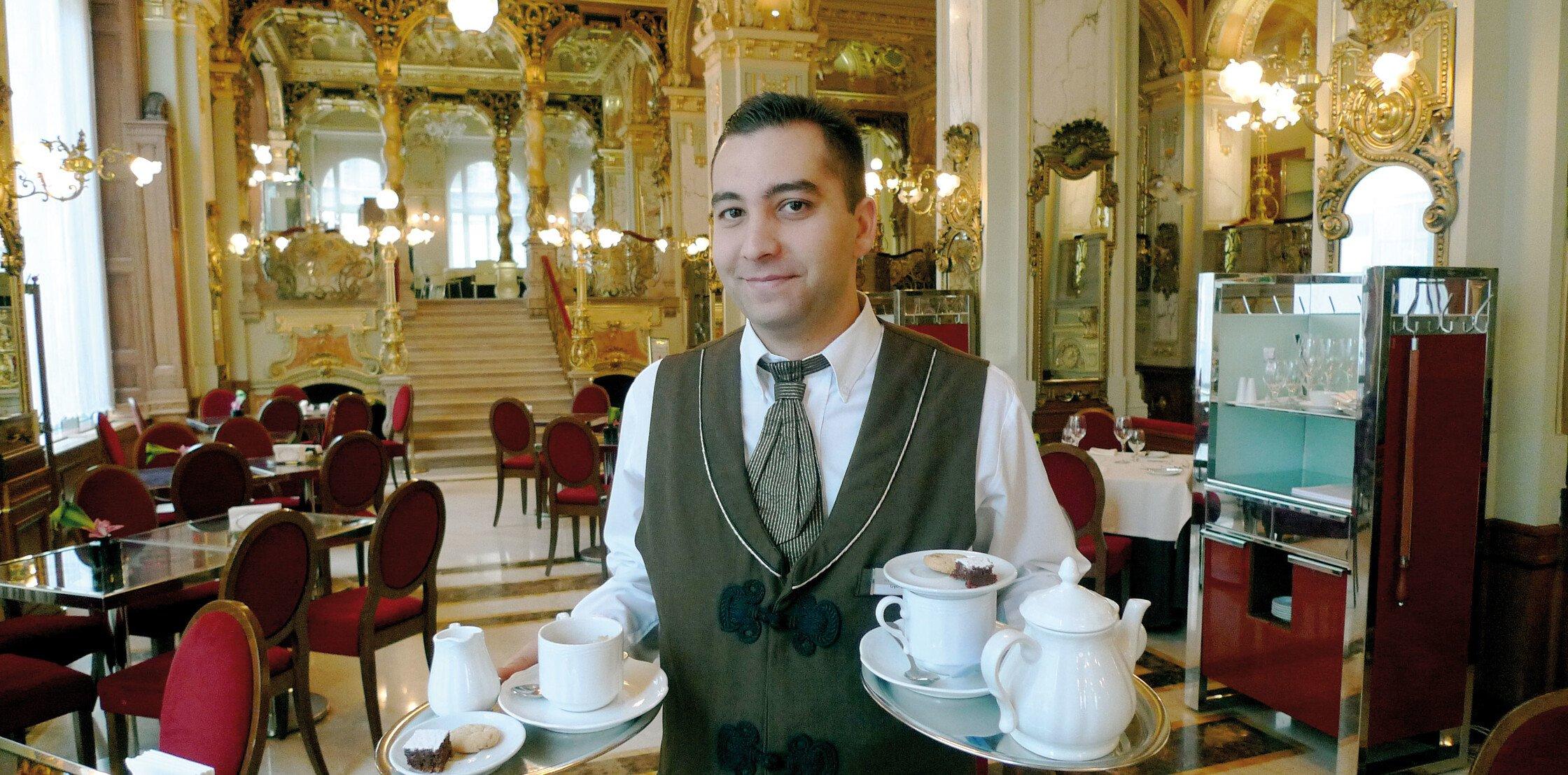 Kaffeehaus in Budapest