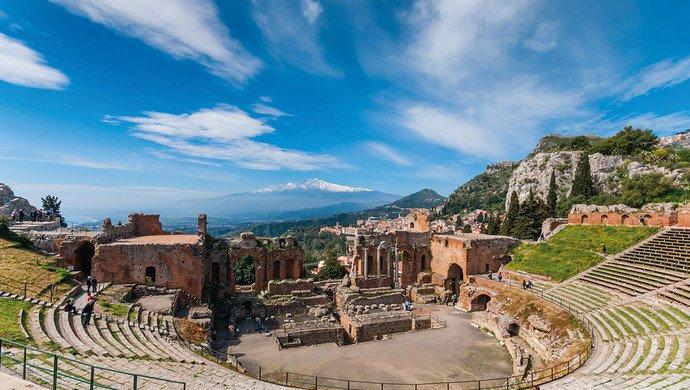 Klassenfahrt Große Sizilienrundreise