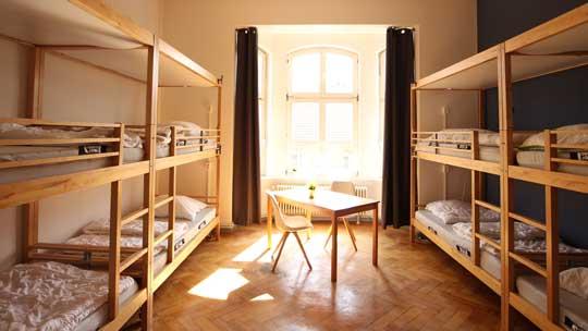 blue doors hostel Altstadt