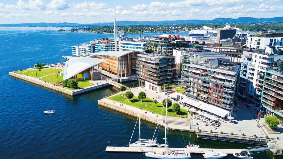 Aker Brygge in Oslo