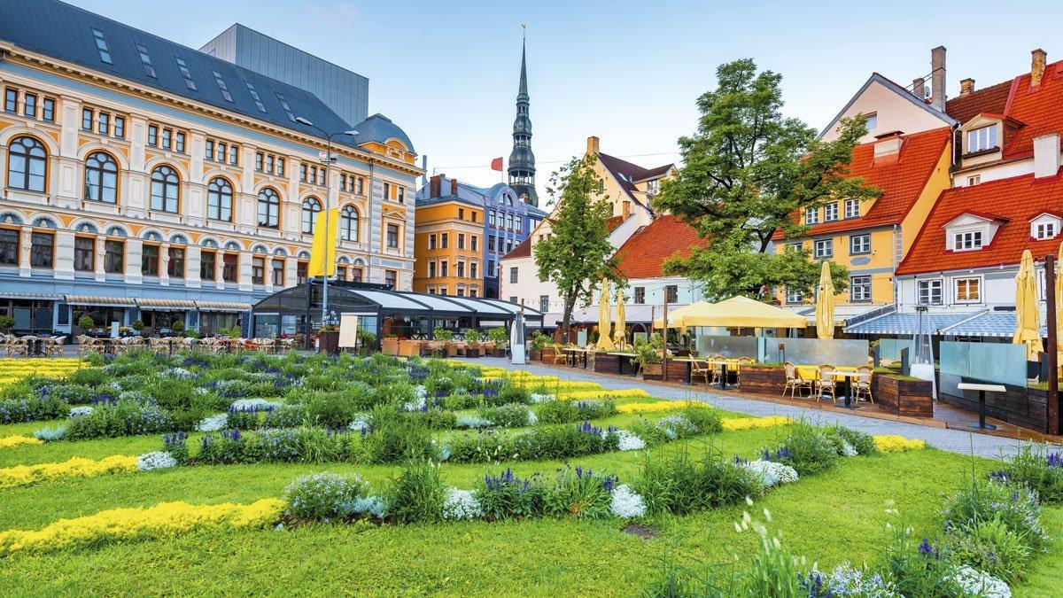 Ein Blick auf Riga