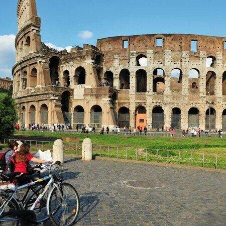 kolosseum, Forum romanum, palatin