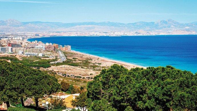 Klassenfahrt Alicante