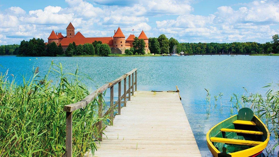 Burg Trakai in Litauen