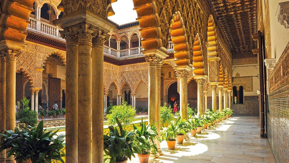 Alcazar de Sevilla - der Königspalast in Sevilla