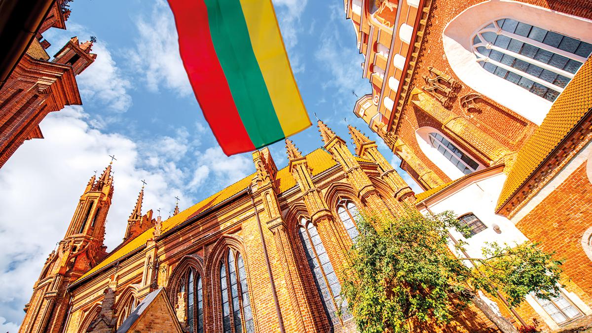 Vilnius St Anna Kirche