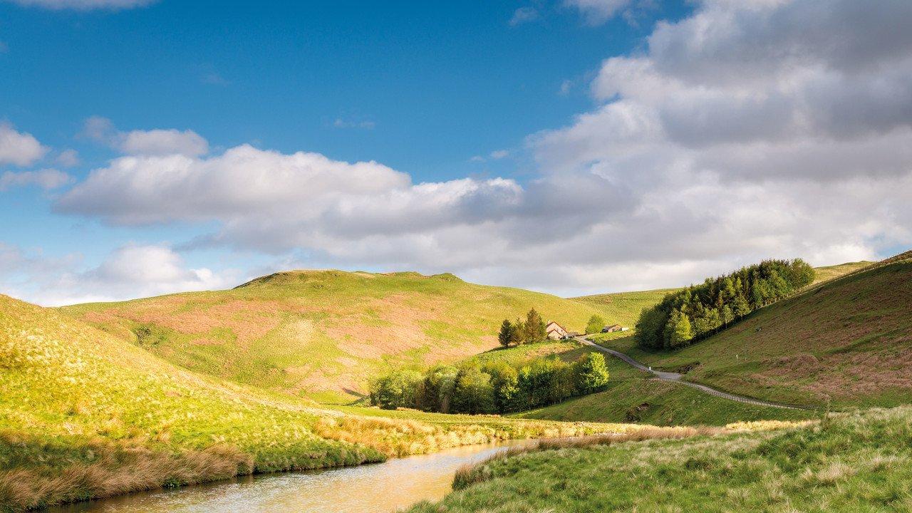 Northumberland-Landschaft-Nationalpark-England