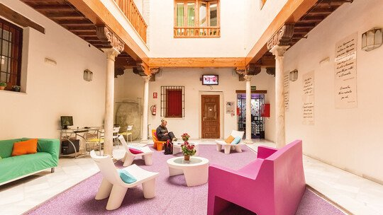 Hostel White Nest in Granada