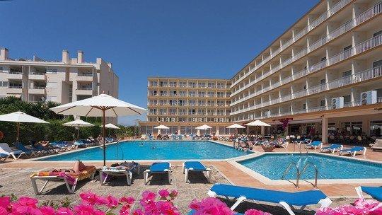 Mittelklassehotel in El Arenal