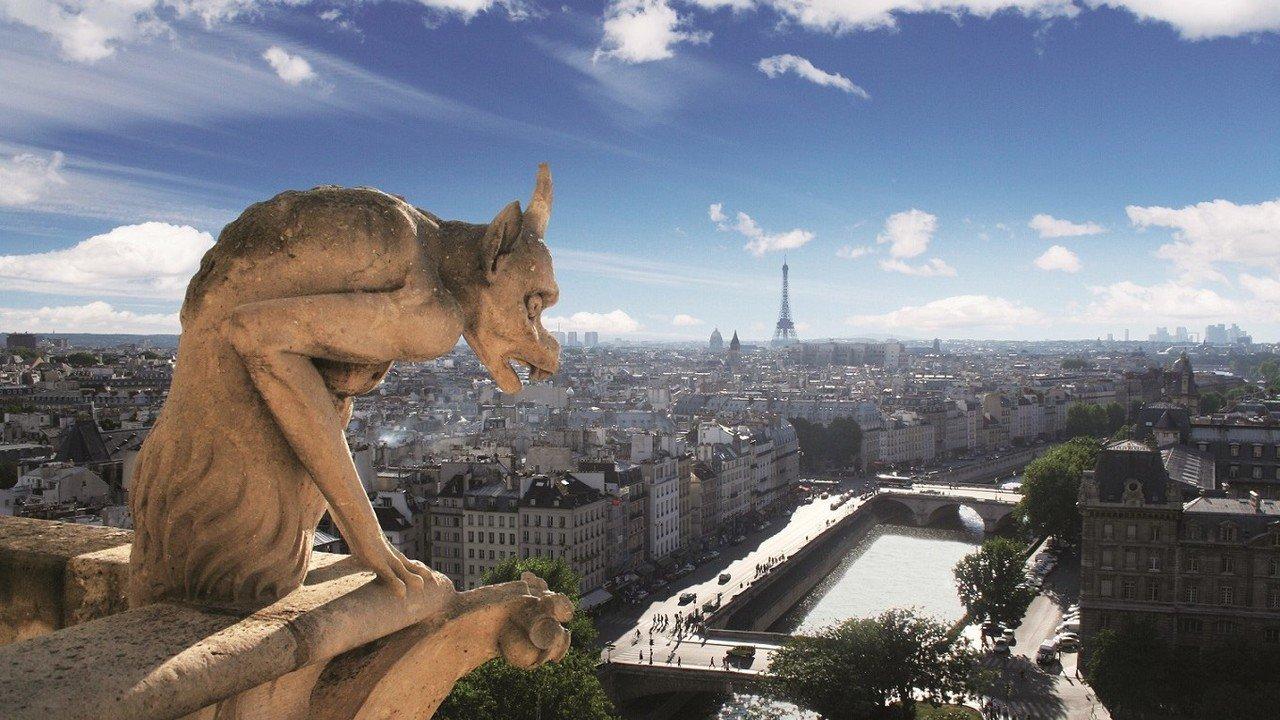 Blick auf Paris von oben