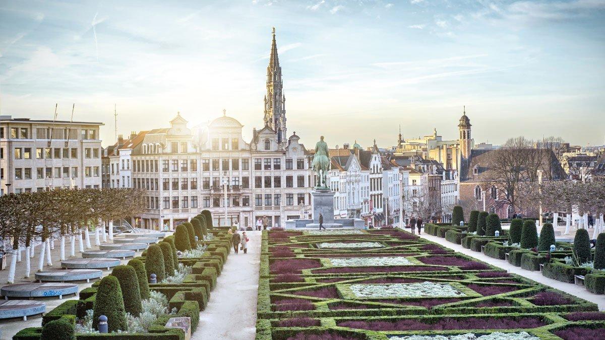 Brüssel Monts des Arts